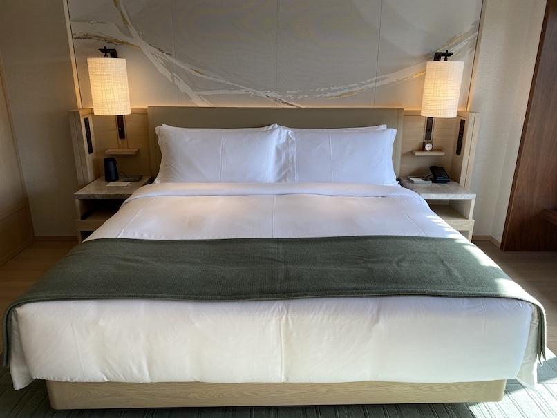 HOTEL THE MITSUI KYOTO(ホテルザ三井京都)の客室:ベッド