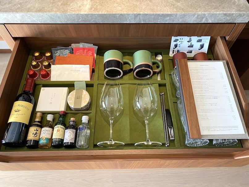 HOTEL THE MITSUI KYOTO(ホテルザ三井京都)の客室:ティーバッグ(紅茶)