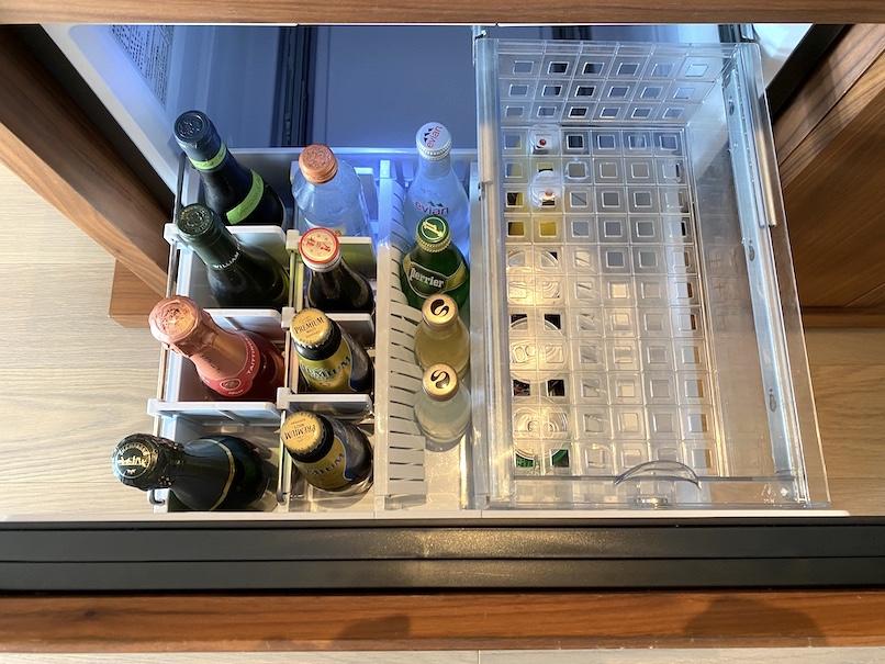 HOTEL THE MITSUI KYOTO(ホテルザ三井京都)の客室:冷蔵庫