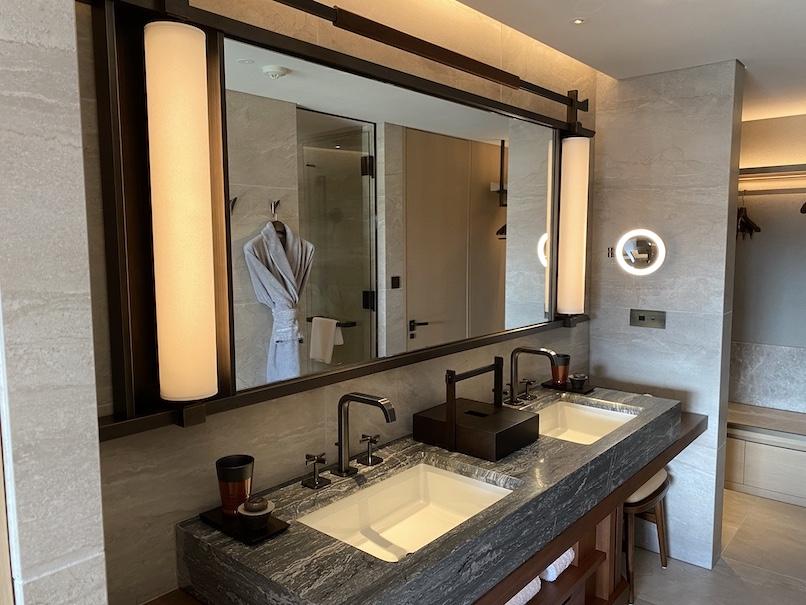 HOTEL THE MITSUI KYOTO(ホテルザ三井京都)の客室:洗面台