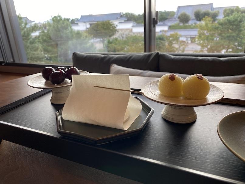 HOTEL THE MITSUI KYOTO(ホテルザ三井京都)の客室:ウェルカムギフト