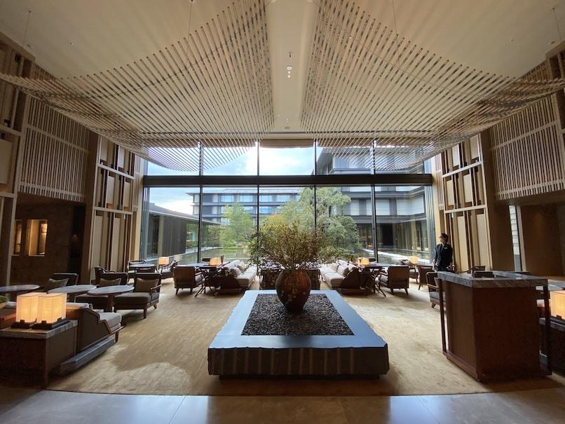 HOTEL THE MITSUI KYOTO(ホテルザ三井京都)のロビー:メインロビー