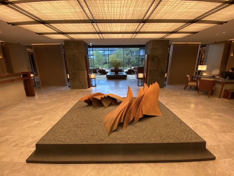 HOTEL THE MITSUI KYOTO(ホテルザ三井京都)のロビー:エントランスホール