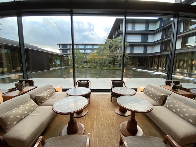 HOTEL THE MITSUI KYOTO(ホテルザ三井京都)のロビー:眺望