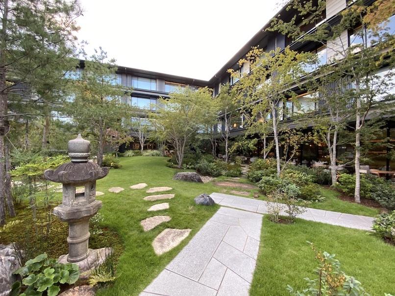 HOTEL THE MITSUI KYOTO(ホテルザ三井京都)の中庭:日本庭園