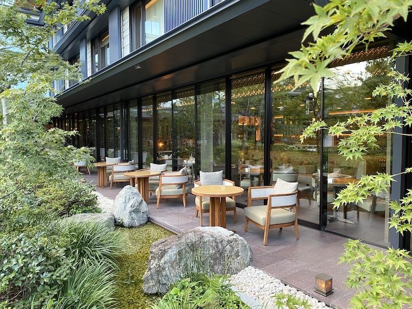 HOTEL THE MITSUI KYOTO(ホテルザ三井京都):レストラン「FORNI」の外観