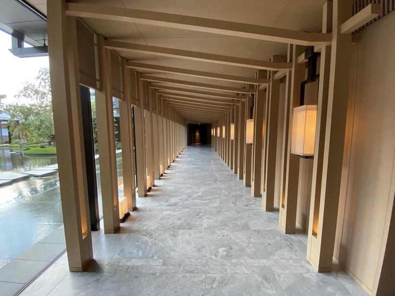 HOTEL THE MITSUI KYOTO(ホテルザ三井京都)の館内:廊下(ロビーフロア)