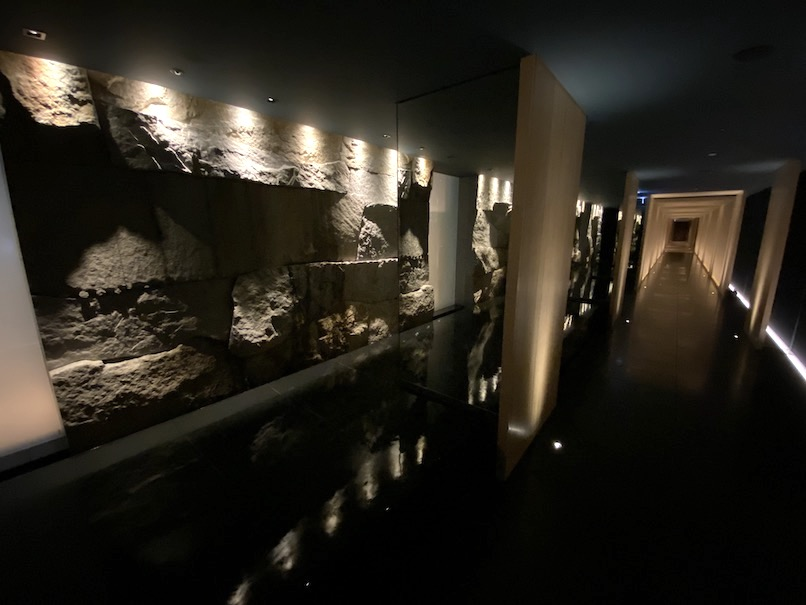 HOTEL THE MITSUI KYOTO(ホテルザ三井京都)「サーマルスプリングSPA」:水盤