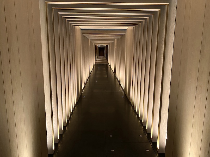 HOTEL THE MITSUI KYOTO(ホテルザ三井京都)「サーマルスプリングSPA」:回廊