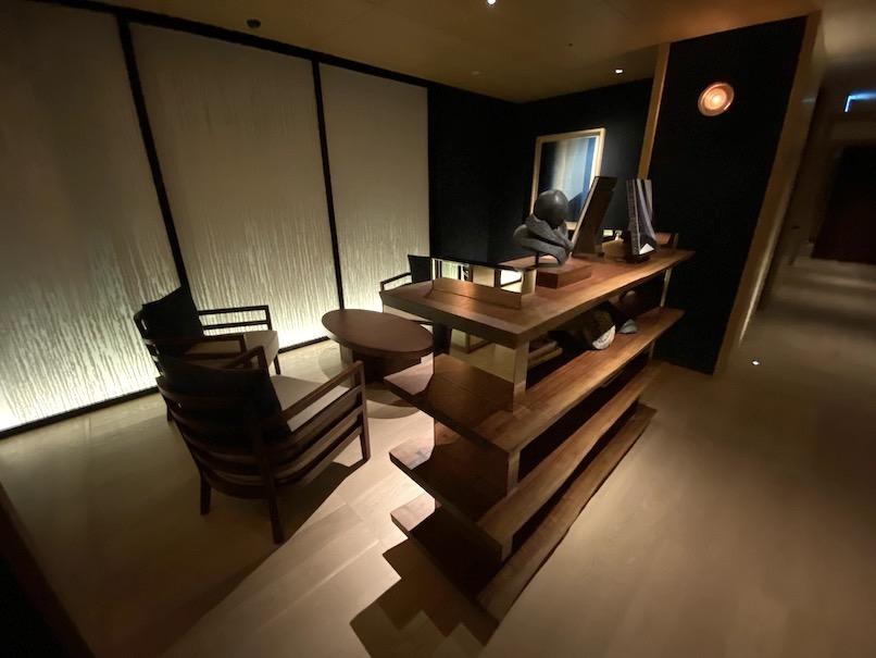 HOTEL THE MITSUI KYOTO(ホテルザ三井京都)「サーマルスプリングSPA」:レセプション