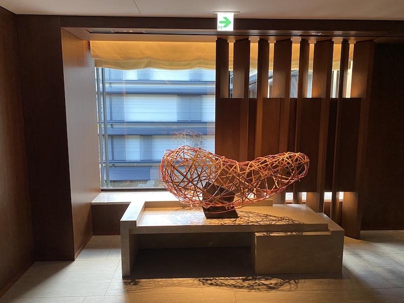 HOTEL THE MITSUI KYOTO(ホテルザ三井京都)の館内:エレベーターホール