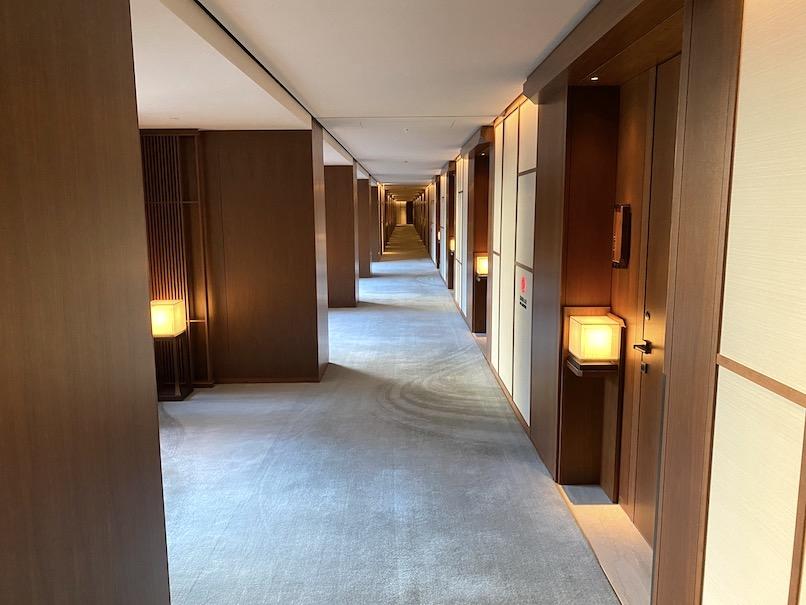 HOTEL THE MITSUI KYOTO(ホテルザ三井京都)の館内:廊下(客室フロア)