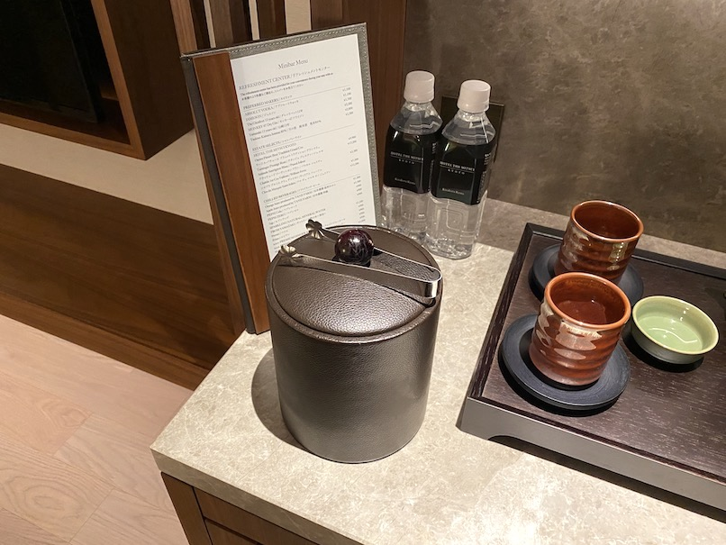 HOTEL THE MITSUI KYOTO(ホテルザ三井京都)の客室:ターンダウン(アイスペール)
