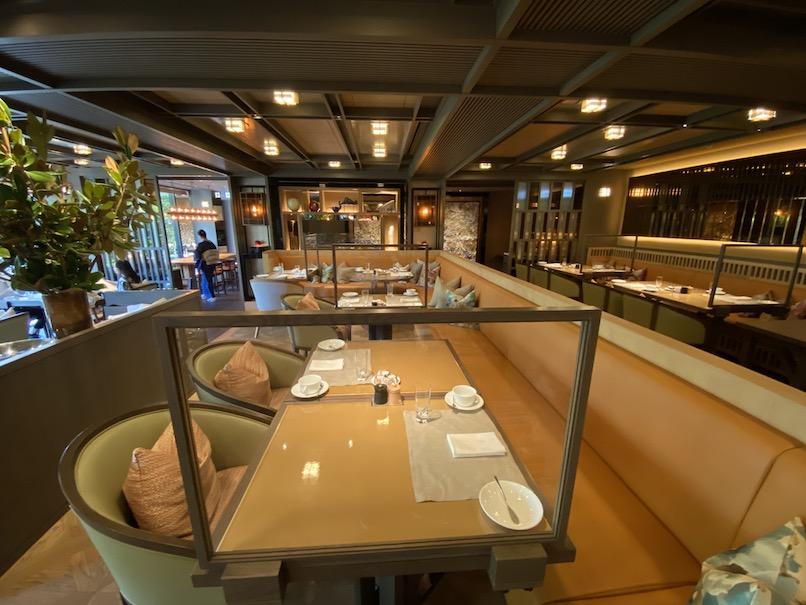 HOTEL THE MITSUI KYOTO(ホテルザ三井京都):レストラン「FORNI」の内観(ソファー席)