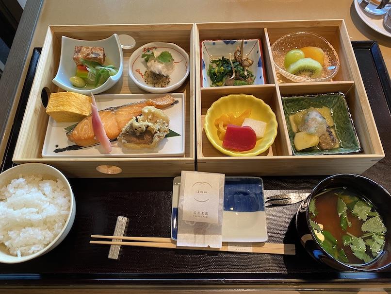 HOTEL THE MITSUI KYOTO(ホテルザ三井京都)の朝食:和食(全体像)