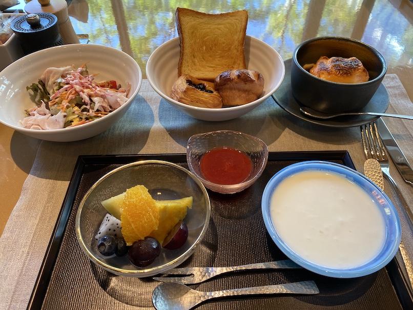 HOTEL THE MITSUI KYOTO(ホテルザ三井京都)の朝食:洋食(全体像)