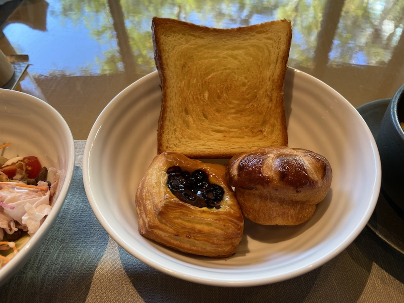 HOTEL THE MITSUI KYOTO(ホテルザ三井京都)の朝食:洋食(パン)
