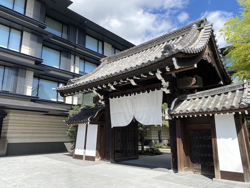 HOTEL THE MITSUI KYOTO(ホテルザ三井京都)の外観:梶井宮門