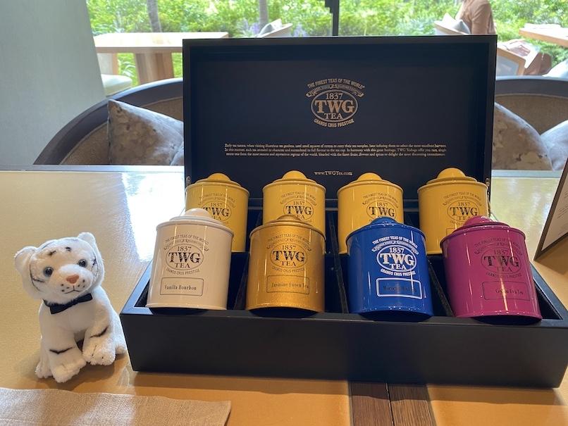 HOTEL THE MITSUI KYOTO(ホテルザ三井京都)のアフタヌーンティー:紅茶缶(TWG)