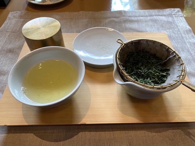 HOTEL THE MITSUI KYOTO(ホテルザ三井京都)のアフタヌーンティー:ウェルカムドリンク(玉露2)