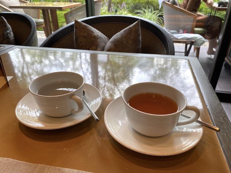 HOTEL THE MITSUI KYOTO(ホテルザ三井京都)のアフタヌーンティー:紅茶