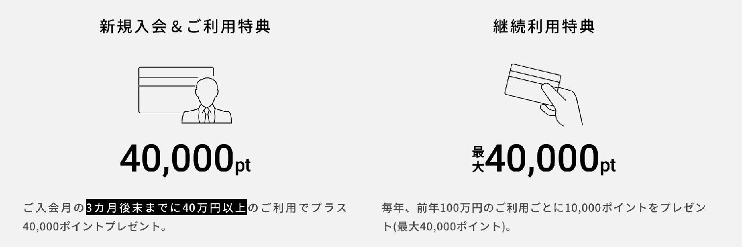 三井住友カード「PLATINUM PREFERRED(プラチナプリファード)」の新規入会&ご利用特典、継続利用特典