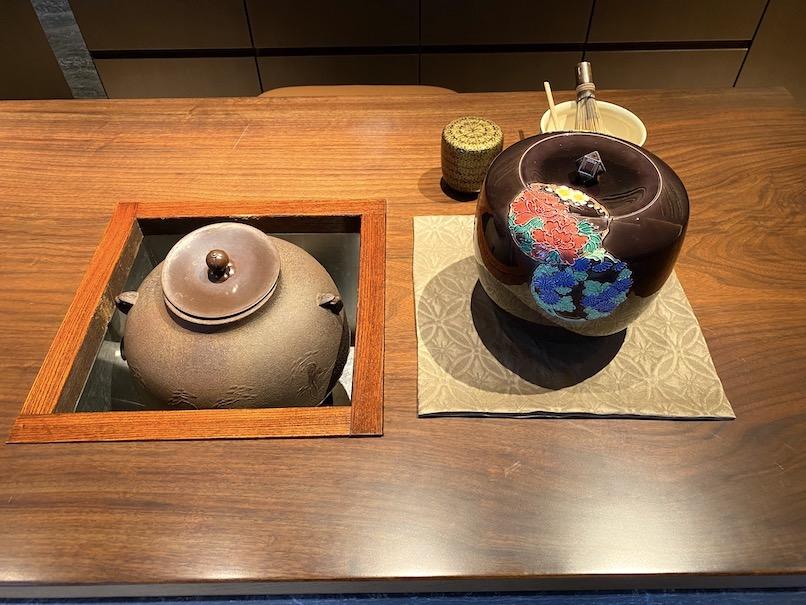 HOTEL THE MITSUI KYOTO(ホテルザ三井京都)のアクティビティ:お抹茶のふるまい(カウンター)