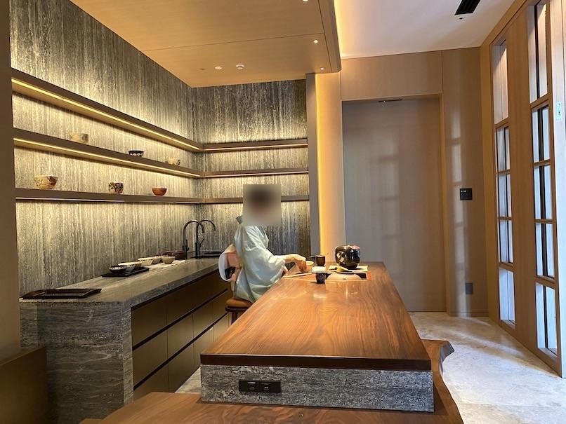 HOTEL THE MITSUI KYOTO(ホテルザ三井京都)のアクティビティ:お抹茶のふるまい(お点前1)