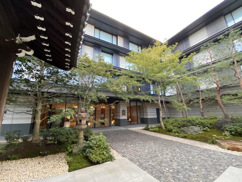 HOTEL THE MITSUI KYOTO(ホテルザ三井京都)のアクティビティ:アートツアー(中庭)