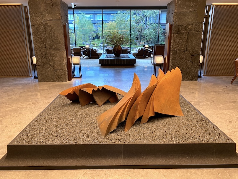 HOTEL THE MITSUI KYOTO(ホテルザ三井京都)のアクティビティ:アートツアー(エントランスホール)
