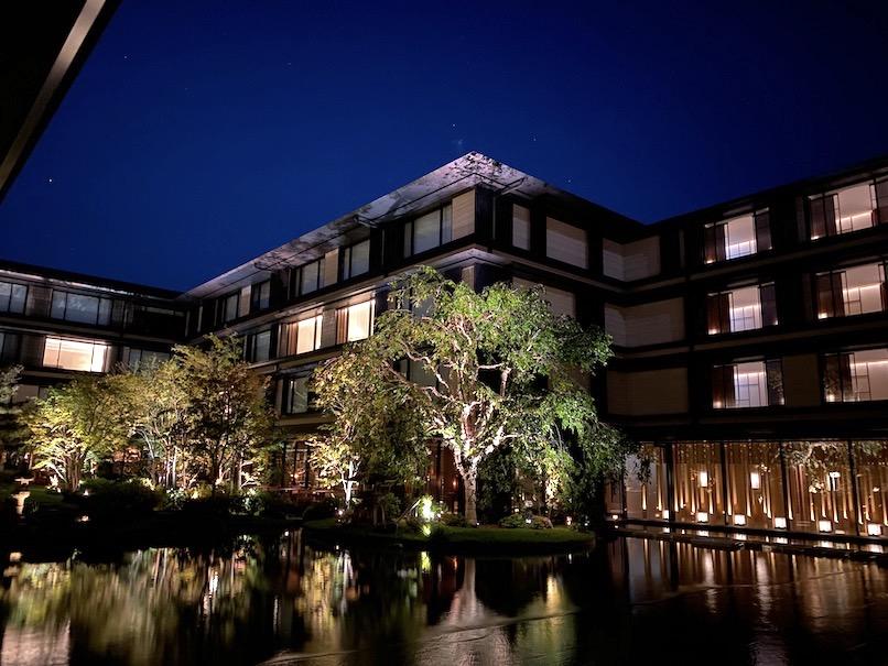 HOTEL THE MITSUI KYOTO(ホテルザ三井京都)のアクティビティ:夜のロビー1