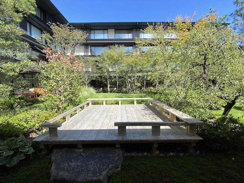 HOTEL THE MITSUI KYOTO(ホテルザ三井京都)のアクティビティ:アートツアー(庭園2)